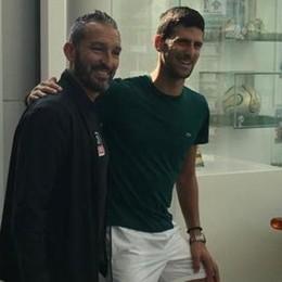 Allenamento e visita medica  Il blitz comasco di Djokovic