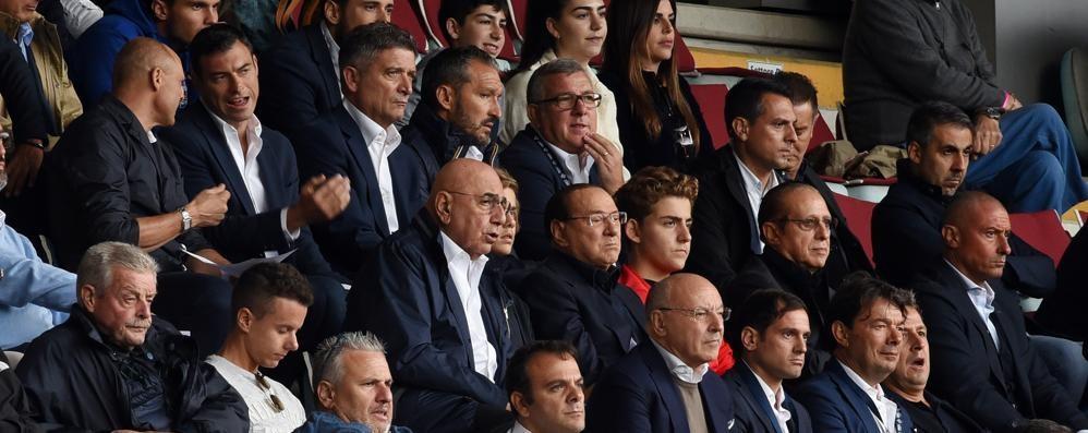 Calcio Como, due tifosi speciali  Su invito della società