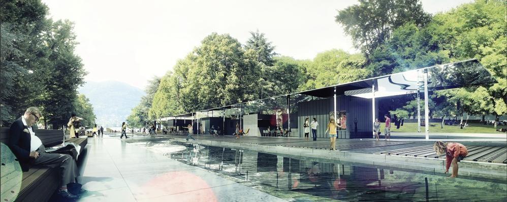 Giardini a lago, nuovo progetto  Il milione in più? Verde e giochi