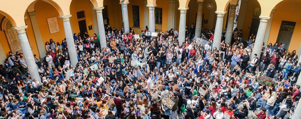 Sciopero per il clima  A Como gli organizzatori rischiano una denuncia