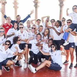 Acf Como, c'è San Bernardo «Le donne, il meglio del calcio»