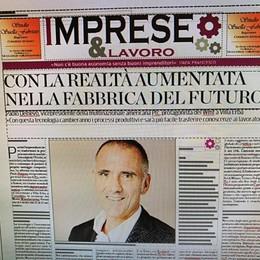 """Il nuovo """"Imprese&Lavoro""""  L'intervista a Paolo Delnevo  Smart City, turismo  e tradizioni"""