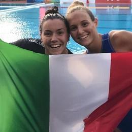 Bianchi e Romanò nella storia Sono salite sul podio europeo