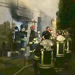 Cantù, uomo intossicato   nell'incendio dentro casa