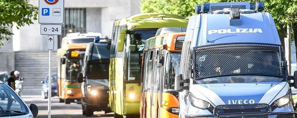 Como-Monza: derby ad alto rischio  Attesi 400 ultras ospiti, città blindata