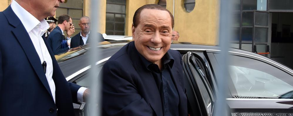 I complimenti al Como  di Berlusconi
