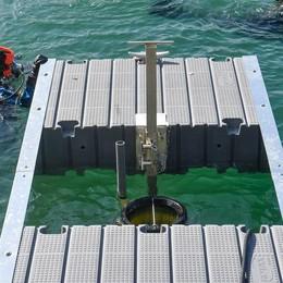 Il bidone mangia plastica  Una novità tecnologica  per tutelare il nostro lago