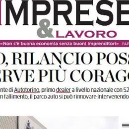 Lunedì, l'economia ricomincia  E La Provincia regala l'inserto  IMPRESE&LAVORO