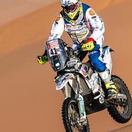 """Cerutti e le moto """"fermi"""" per lutto  Ma oggi alla Dakar la tappa più lunga"""