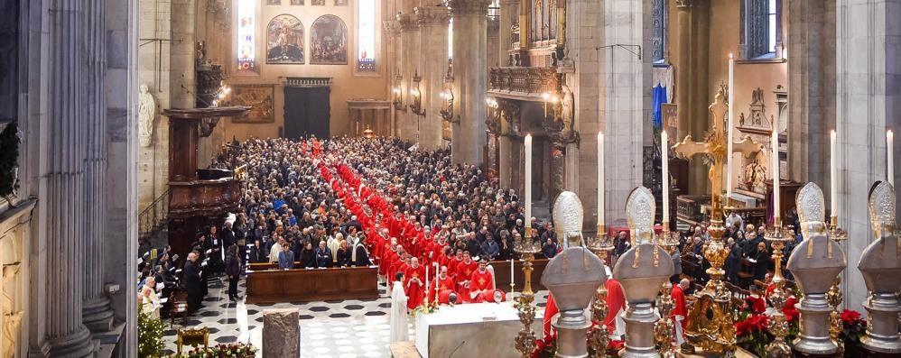 Un Duomo gremito   battezza il Sinodo