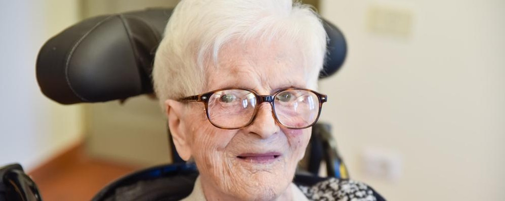 La nonna dei comaschi  compie 108 anni