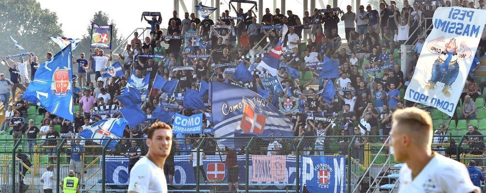 Tifosi del Como a Monza  saranno anche in tribuna