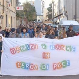 Marcia della pace a Cantù  «Mai prevista una raccolta firme»