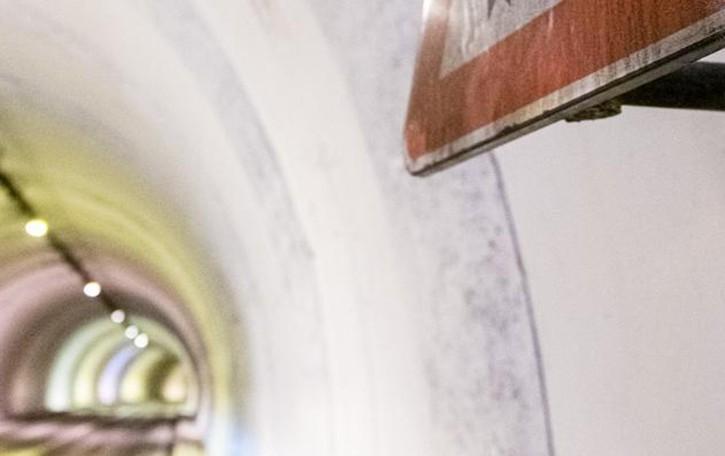 Blevio, gallerie da ritinteggiare  Senso unico per dieci giorni