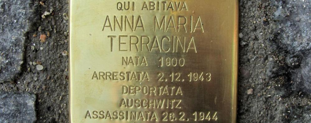 Mariano ricorda Anna Maria Terracina  «Ecco il simbolo del suo martirio»   QUI il video della cerimonia