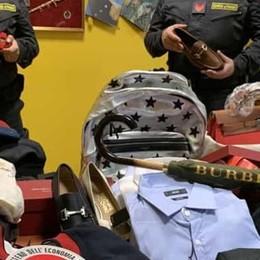 Contrabbando di griffe d'alta moda  Stroncato traffico per un milione di euro