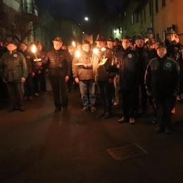 In cinquecento per Nikolajewka  Bizzarone: «Basta con le guerre»