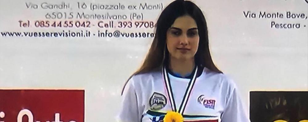 Che brava Corsini: veni, vidi e vici Porta il tricolore alla Brianza inline