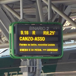 Erba, il sindaco Airoldi  «Troppi disservizi, più soldi ai treni»