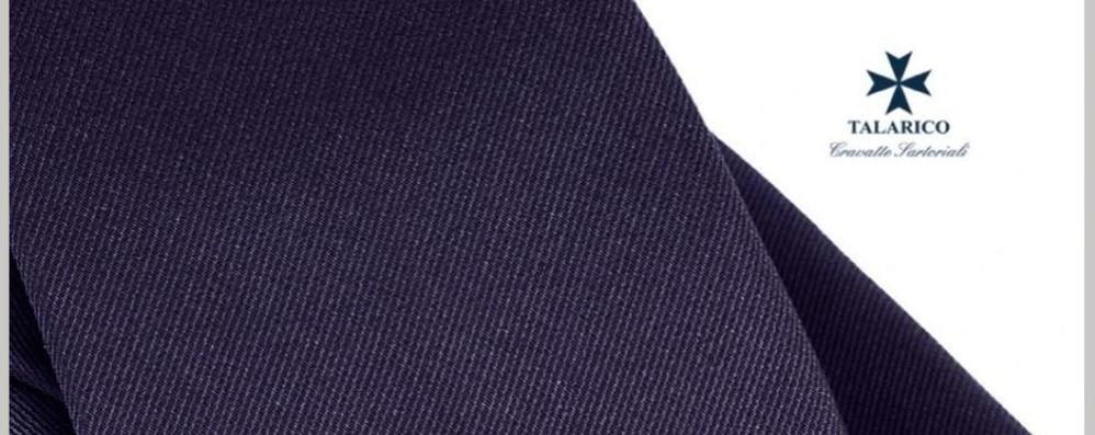 Padiglione Italia a Expo  La cravatta ufficiale  con un tessuto comasco