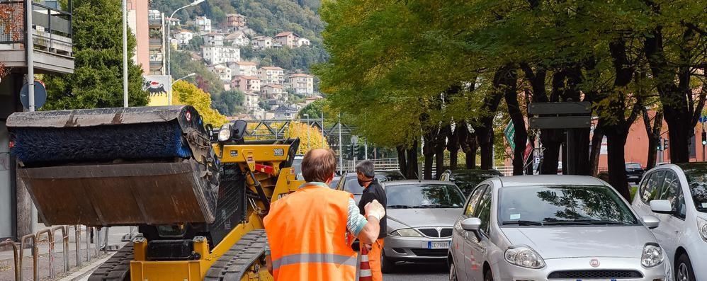 Fibra, gas e teleriscaldamento  Traffico ovunque per i cantieri