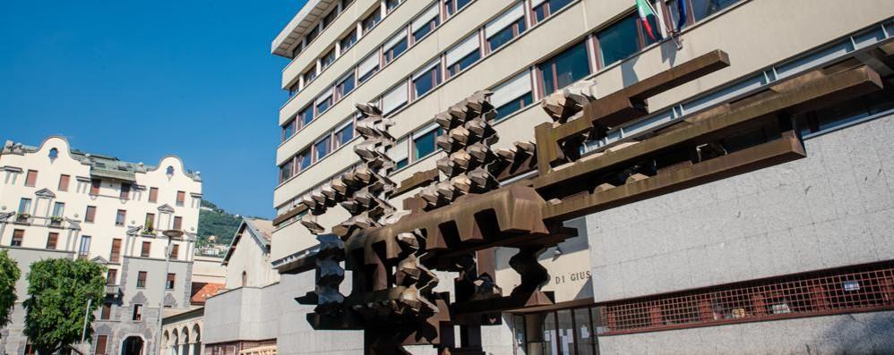 Caso di Covid negli uffici del Tribunale  Ats si fa viva dopo 10 giorni: quarantena