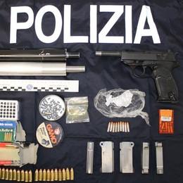 Fermato a Cantù con pistola e proiettili Finisce in carcere