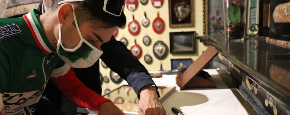 Cuore Montoli: dona al Ghisallo la sua maglia tricolore Juniores