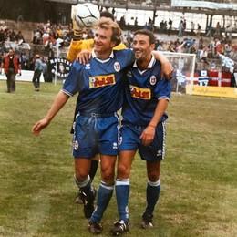"""Il derby lo gioca """"flipperino"""" Damiani «Tra Como e Lecco. I gol? Li ho fatti qui»"""
