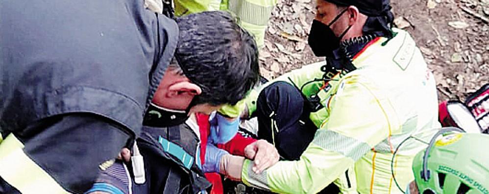 Spina Verde, cade in bici  mentre fa downhill  Traumi gravi alla schiena