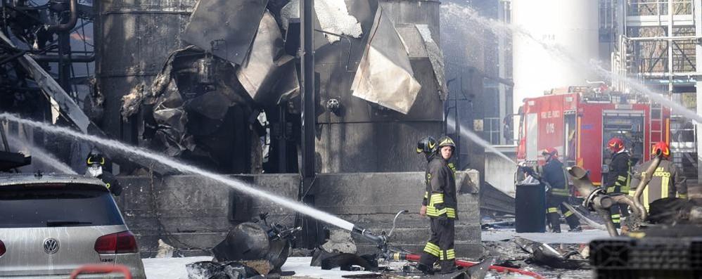 Esplosione Ecosfera: in tre patteggiano  La società dovrà pagare 20mila euro