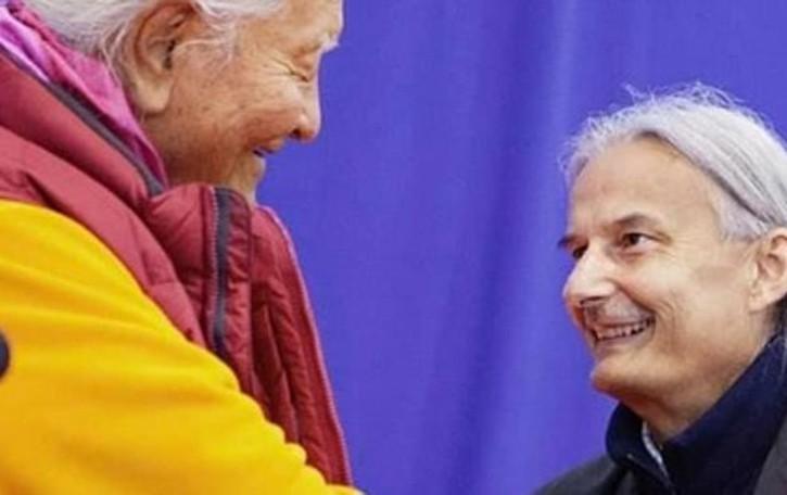 La comunità buddista piange Guarisco  Il comasco che traduceva il Dalai Lama