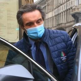 Fontana: «Non contro la zona rossa»  «Milano come Bergamo a marzo»