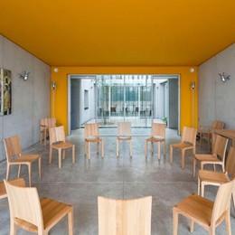 Il convento di Renzo Piano  per le suore Clarisse  Arredi made in Brianza