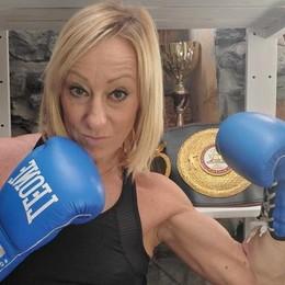 Laglio, Laura prende a pugni il Covid  «Che errore vietare lo sport»