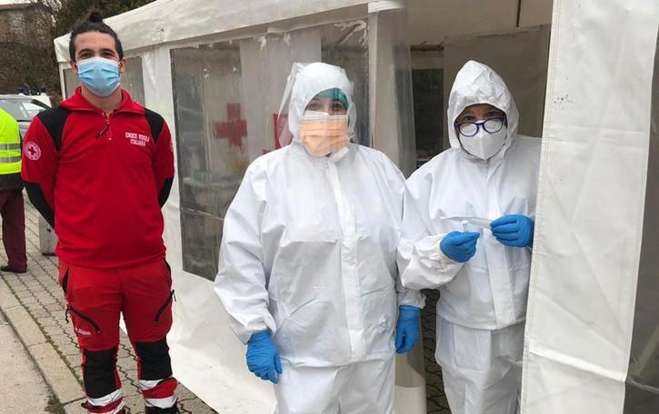 San Fedele Intelvi, il giorno dei tamponi  In arrivo medico e infermieri dell'Esercito