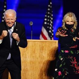 Jill dopo Melania  First lady testimonial  della seta comasca