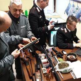 Vercana, fucile senza matricola Arrestato un uomo di 63 anni