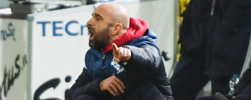Como choc, esonerato Banchini La squadra a Gattuso e Guidetti