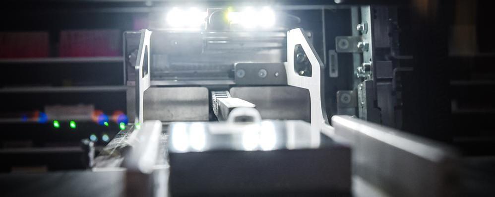 A Como la farmacia 4.0  In magazzino  lavorano i robot