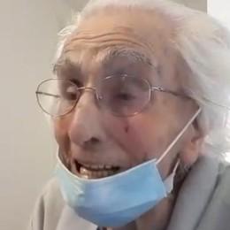 «Così all'età di 106 anni  ho sconfitto il Covid»