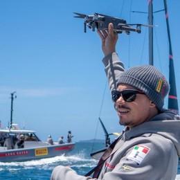 Stefano sale su Luna Rossa  «Il mio drone per vincere»