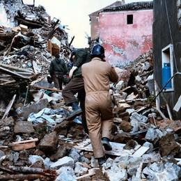 Emilio Magni racconta:  «Il mio Natale   nel terremoto»