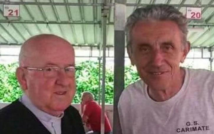 Carimate piange con il Gruppo sportivo  Tanta gente per l'addio a Silvano Radice