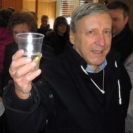 Caslino d'Erba, addio a don Giorgio  «È stato un cittadino esemplare»