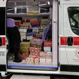 Dono del vigile alla Croce rossa  «La mia tredicesima è per voi»