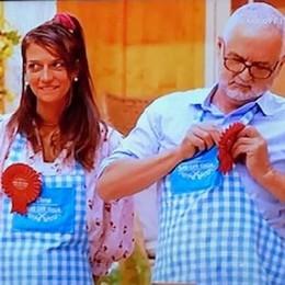 No solo dolci ma anche carne  Padre e figlia trionfano a Bake off