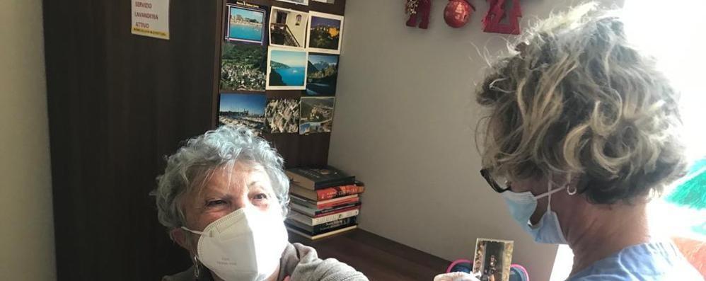 """Sala Comacina, 165 vaccini anti Covid A ospiti e personale di """"Villa Stefania"""""""