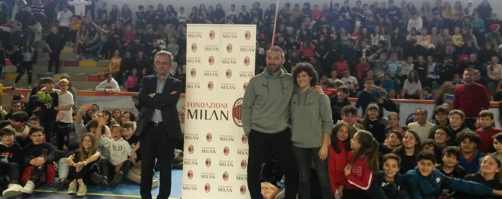 Lezione di regole alle media  A Olgiate il Milan in cattedra