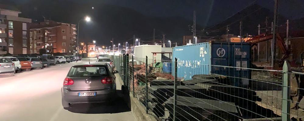 Erba, troppo rumore di notte  Proteste per i lavori in stazione